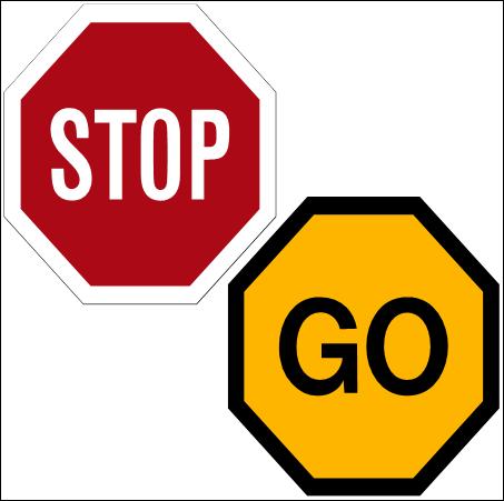 R1.5 Road Sign